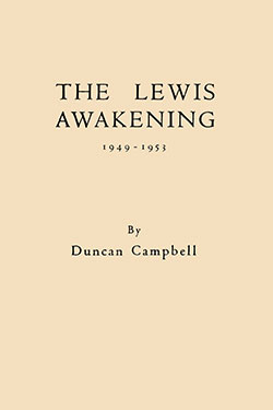 The Lewis Awakening by Duncan Campbell