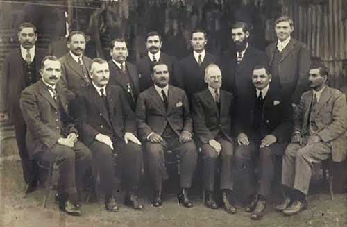 Willis Hoover and Chilean Pentecostal Leaders